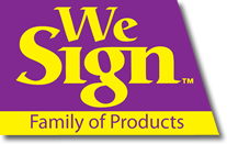 We Sign Products